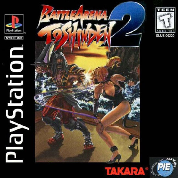 Battle Arena Toshinden 2 [U] Front Cover
